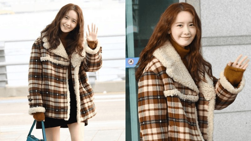 Yoona Showcasing The Right Way To Rock An Earthy Colored Look At The Airport Inkistyle